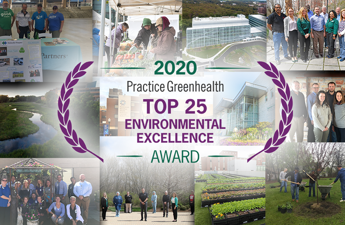 top 25 sustainable hospitals
